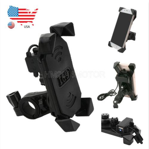 Handlebar Mount Phone Holder For Suzuki Boulevard M109R M50 M90 M95 C109R C50