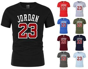 NEW-Mens-T-shirt-Michael-Air-Legend-23-Jordan-Men-shirt-Tops-Graphic-Tumblr-Cool