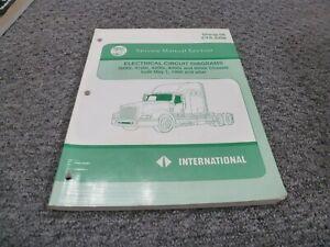 [DIAGRAM_4FR]  1999-2002 International 9200i Truck Electrical Wiring Diagrams Manual 2000  2001 | eBay | Wiring Diagram International 9100i |  | eBay