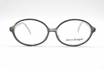 Gelernt Vintage Terri Brogan 8807 53[]13 140 Schwarz Oval Brille Eyeglasses Nos Kaufe Eins, Bekomme Eins Gratis