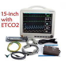 ETCO2 15-inch ICU 6-Para Patient Monitor,NIBP/SPO2/ECG/TEMP/RESP/PR CO2 Module