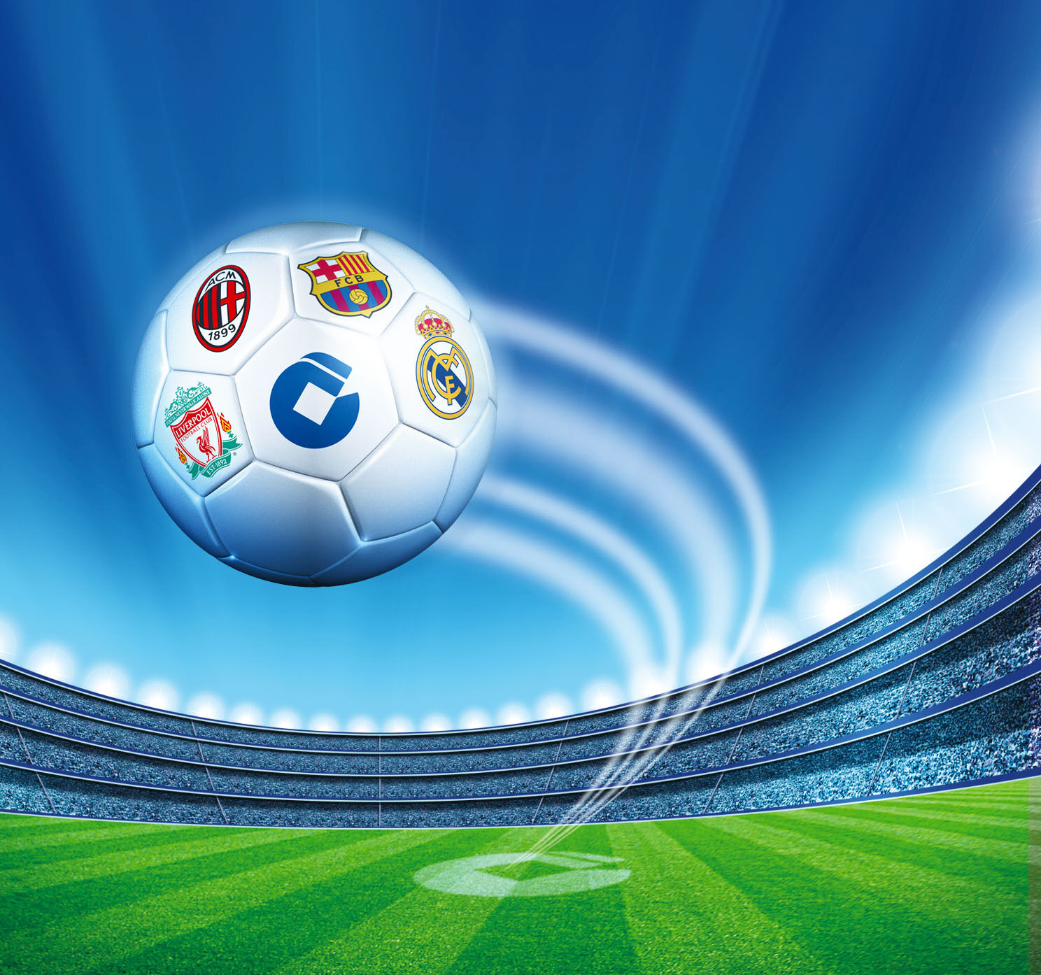 3D Flying Football 1200 Paper Wall Print Wall Decal Wall Deco Indoor Murals