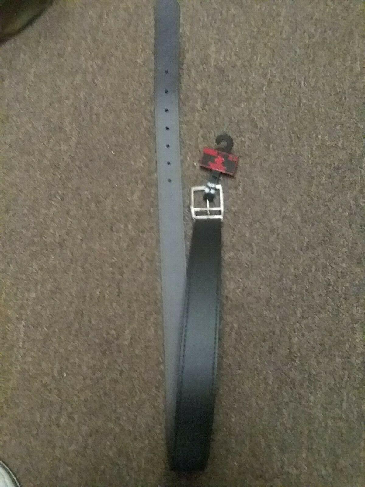 * nuevo con etiquetas * Beverly Hills Polo Club ~ ~ 32/34 para Hombre Cinturón De Cuero
