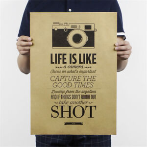 life-is-like-a-camera-poster-cafe-bar-painting-retro-kraft-paper-wall-sticker-HU