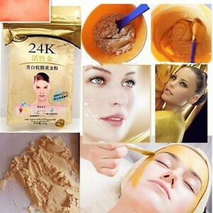 24K-GOLD-Active-Face-Mask-Powder-50g-Anti-Aging-Luxury-Spa-Treatment-nEW