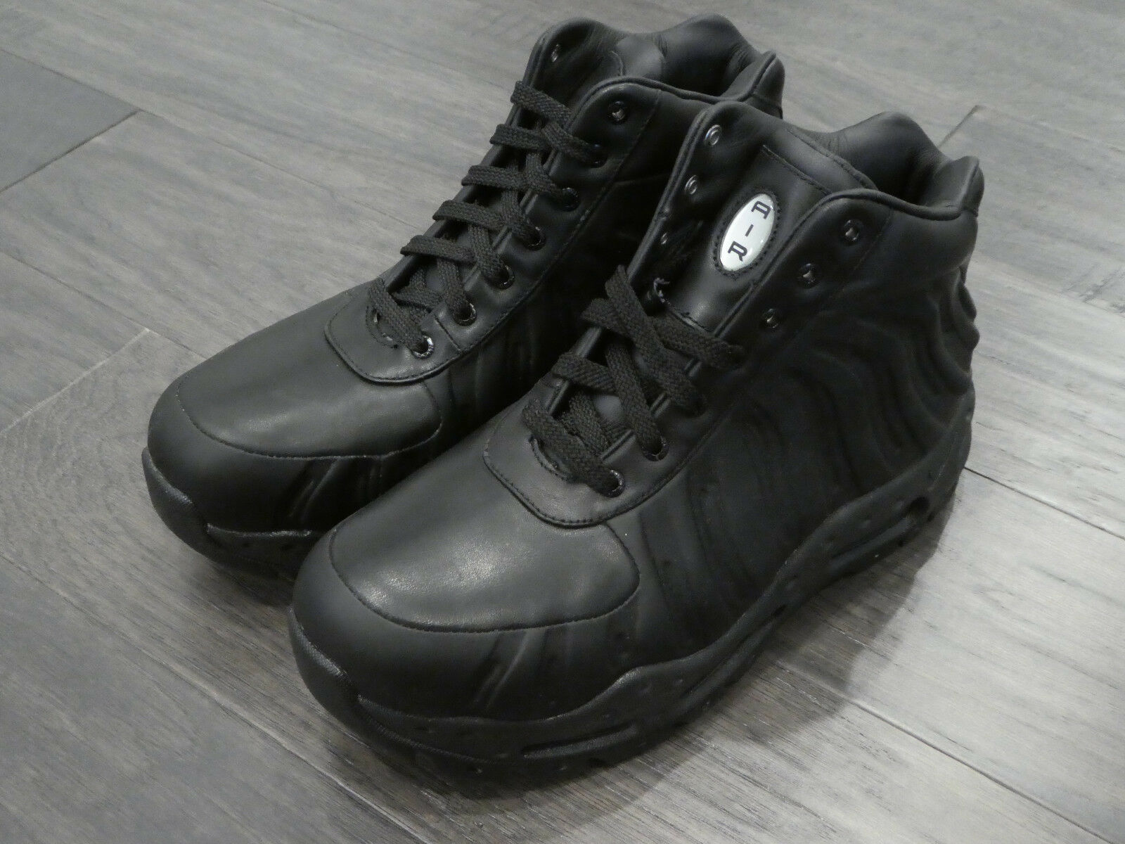 Nike Air Max Foamdome boots sneakers shoes new black 843749 002 foams