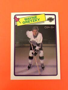 Wayne-Gretzky-1988-89-O-Pee-Chee-Hockey-Card-120-SEE-photos-Edmonton-Oilers