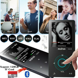 16GB MP3 Player Bluetooth Musikspieler 1,8'' LCD Display FM Radio E-Book Headset