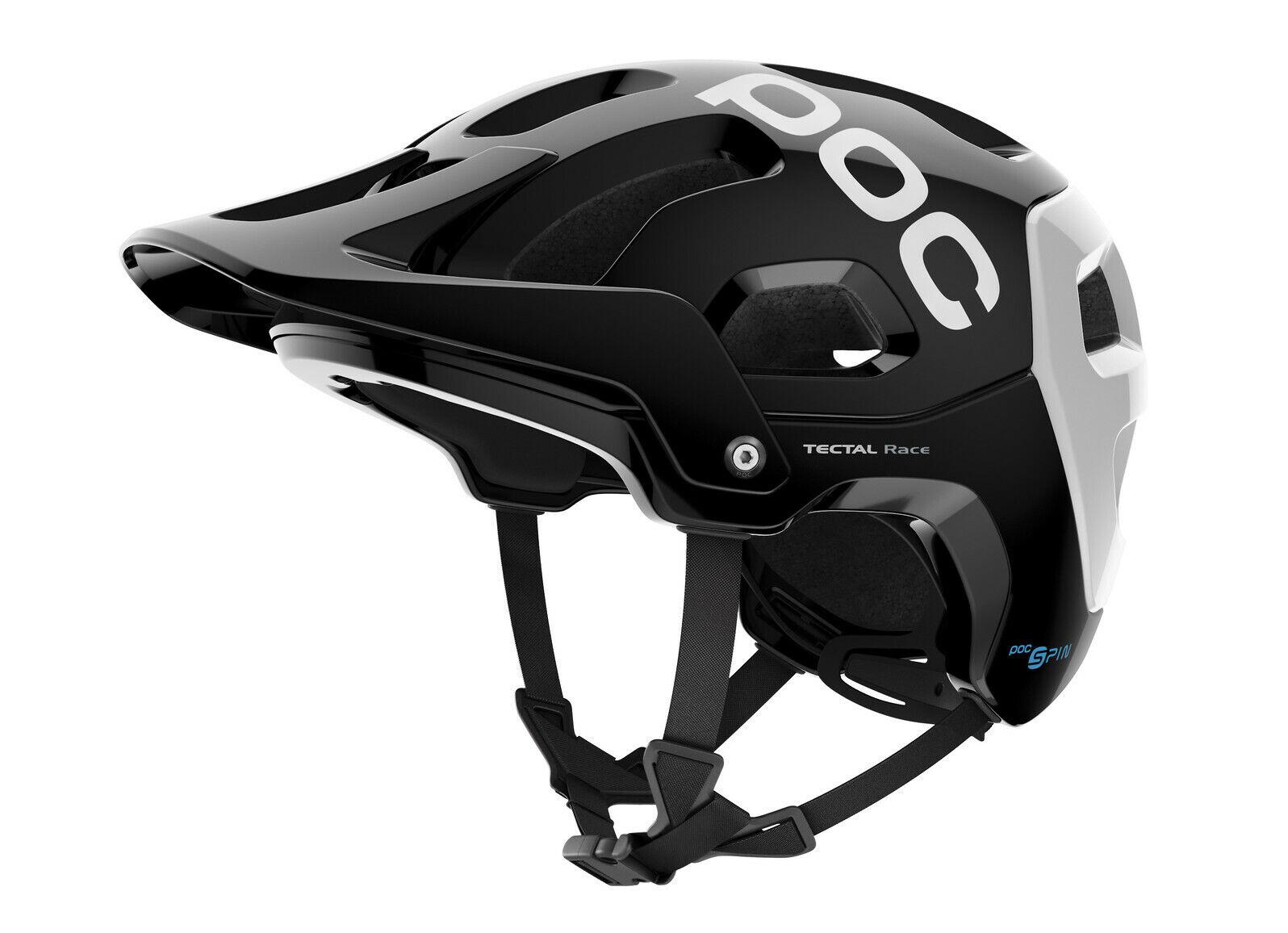 POC Tectal giro Casco de Bicicleta de Montaña Negro Race blancoo Talla M LG