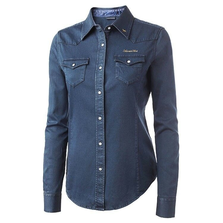 Mountain Horse Hepburn Shirt  Lightweight and Breathable Stretch Denim  with cheap price to get top brand