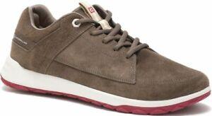 CATERPILLAR-Quest-P724166-en-Cuir-Sneakers-Baskets-Chaussures-pour-Homme-Nouveau