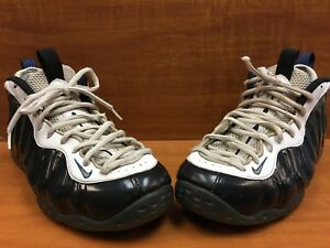 official photos 4f681 d7193 Image is loading Nike-Air-Foamposite-One-Concord-Black-White-Game-