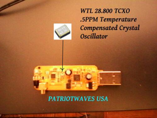 SDR TRUNKING RIG 2x RTL2832U+R820T2 TCXO Radios Y splitter MCX to BNC Bulkhead