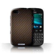 STUFF4 Phone Case for Blackberry Smartphone/Carbon Fibre Effect/Pattern/Cover