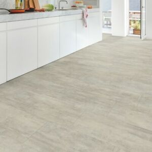 Details About Quickstep Livyn Ambient Click Waterproof Vinyl Tile Flooring Grey Travertin