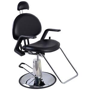New Reclining Hydraulic Barber Chair Salon Beauty Spa Shampoo