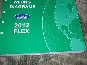 2012 FORD FLEX Electrical Wiring Diagram Service Shop ...