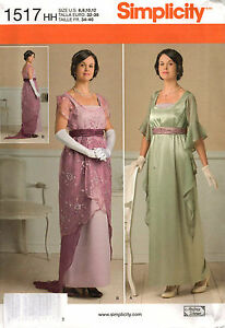 From-UK-Sewing-Pattern-Dress-Edwardian-Downton-Period-Costume-6-12-1517