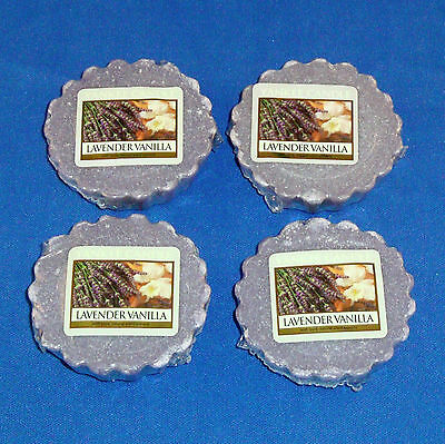Yankee Candle Co. - Set of 4 Wax Tarts - NEW