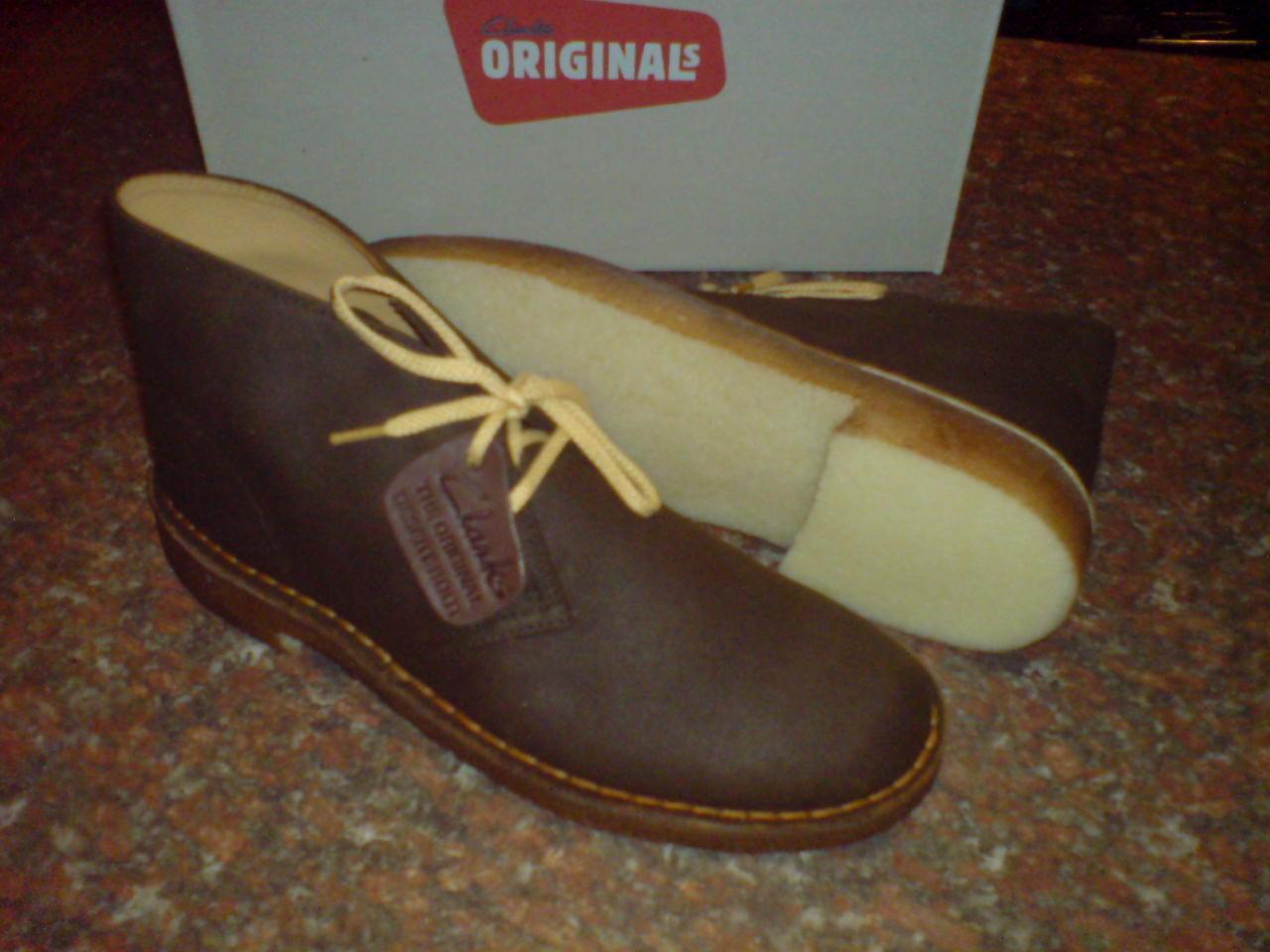 Clarks Original Desert Boot Marrone Uomo ** ** British Marrone Boot pallida tessuto ** /6 cc6dcb