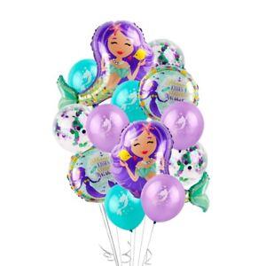 Confetti-Foil-Mermaid-Balloons-Mylar-Birthday-Party-Supplies-Baby-Shower-Decor