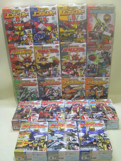 Power Rangers RPM Ultrazord & Road Attack Zord & Rail Blaster Plastic model kits