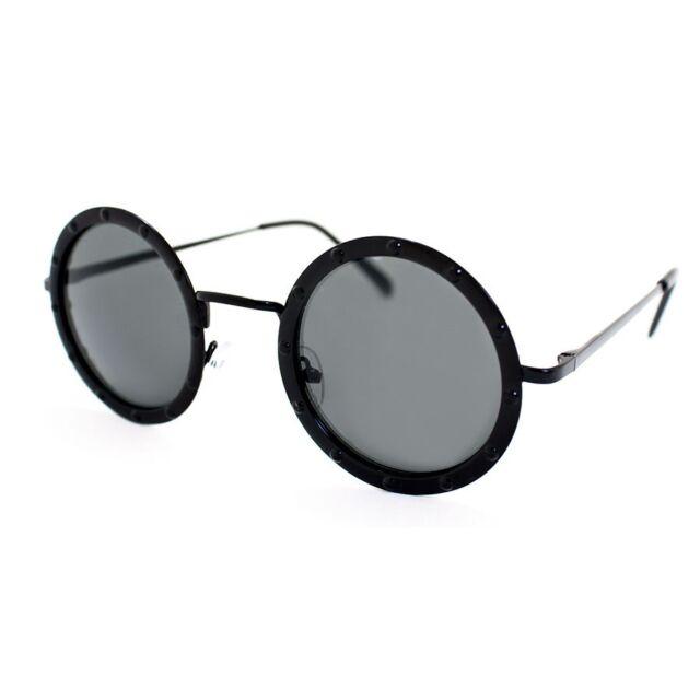 353422d19a1 A.j. Morgan Gladiator 88456 Round Sunglasses Black