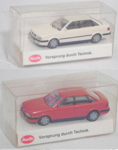 1:87 feuerrot Baureihe B4 Rietze 10460 Audi 80 2.0