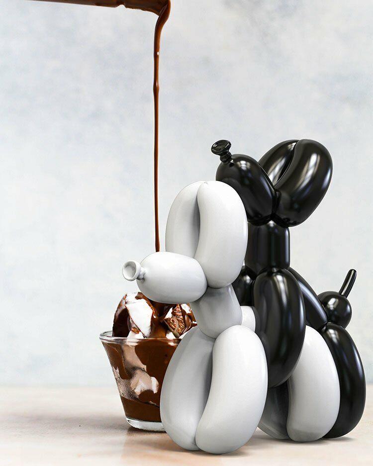 salida TYCTOYS 10  Mighty Jaxx humpek whatshisname Globo Perro Perro Perro Figura de vinilo de arte  Tienda 2018