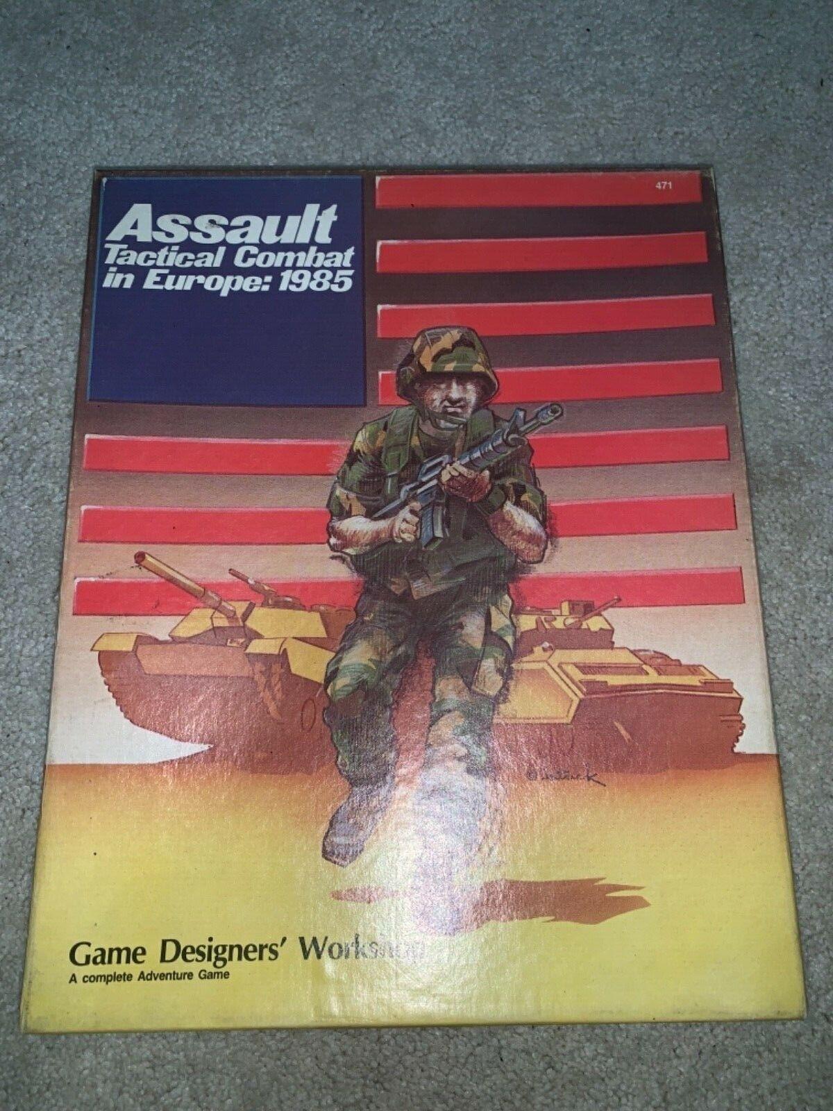 Seminario Seminario Seminario europeo sobre tácticas de asalto  1985 d69