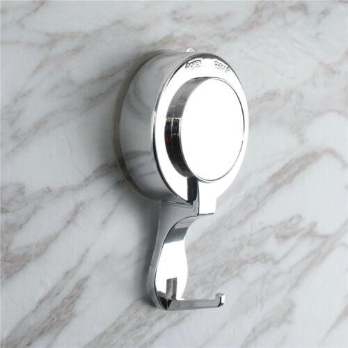Vakuum Saugnapf Sucker Dusche Handtuch Haken Halter Badezimmer Wand Tür KleidDDE