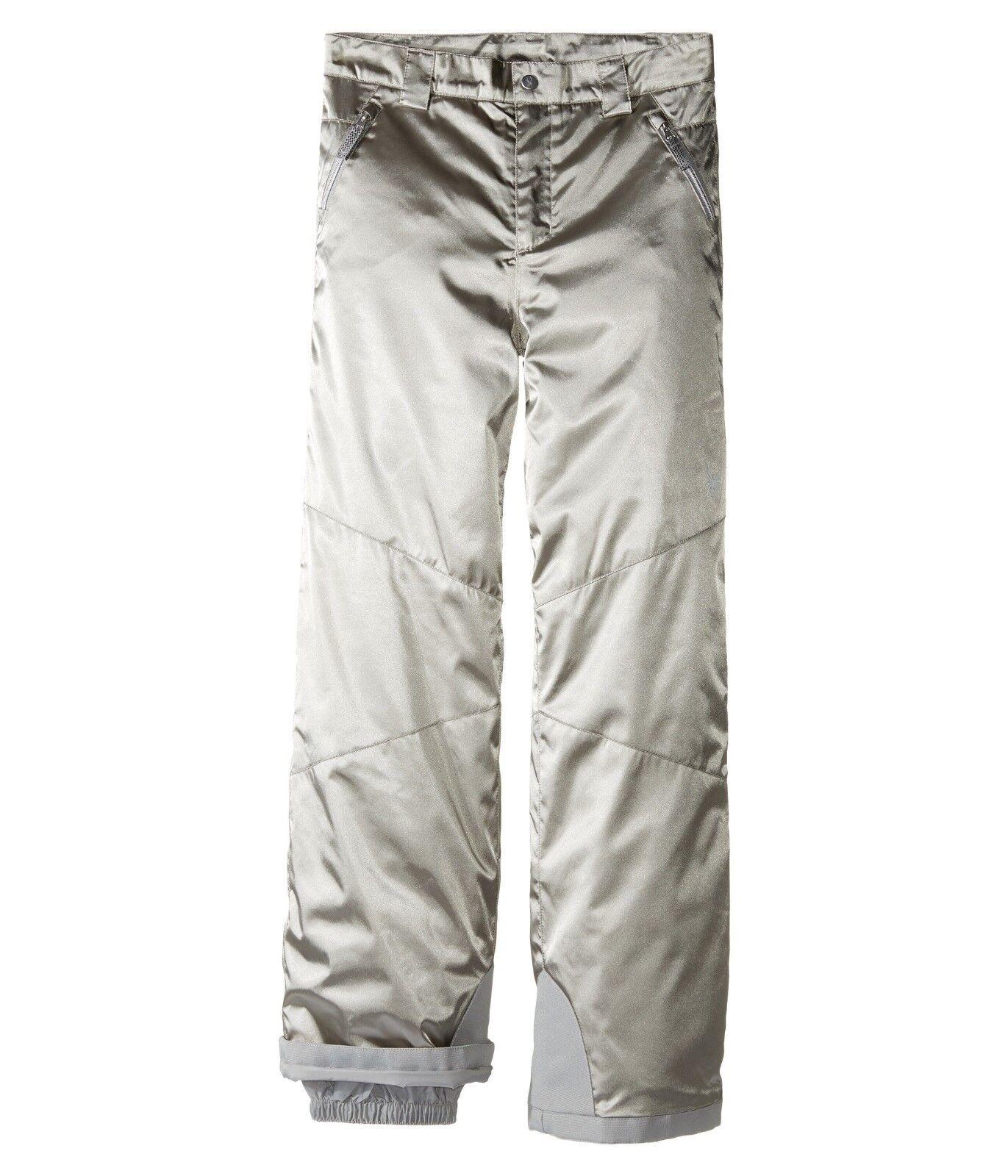 Spyder Girls Ski Snowboarding Thrill Athletic Fit Pants, Size 18 (Girl's), New