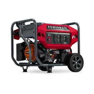 Powermate 8130 - PM4500E 4,500 Watt Portable Generator, 49 ST/CSA
