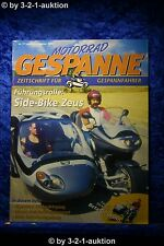 Motorrad Gespanne Nr.77 5/03 BMW Reichler Hayabusa