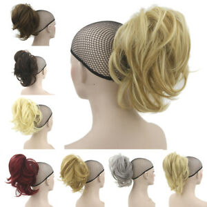 13-034-Synthetic-Claw-Clip-on-Ponytail-Hair-Extensions-35cm-Short-Thick-Hair-Pieces