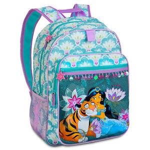 033a5892a637 Details about Disney Store Aladdin Princess Jasmine School Backpack