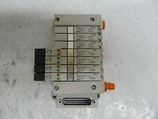 SMC SQ1000 Series Pneumatic Valves On Manifold SQ1131Y w// EX140-STA1 11pcs Lot