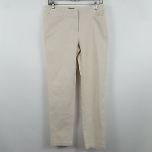 J-Jill-Stretch-Beige-Skinny-Straight-Women-039-s-Corduroys-Pants-Sz-6-30-x-30