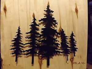 Image Is Loading Beautiful Handmade Lodge Black Metal Wall Art