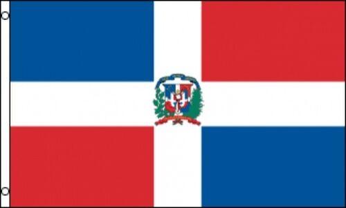 3/'x5/' Dominican Republic Flag Outdoor Indoor Banner La Hispaniola Caribbean 3x5