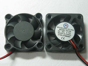 8-pcs-Brushless-DC-Cooling-Fan-7-Blade-24V-4010S-40x40x10mm-2Wire-Sleeve-Bearing