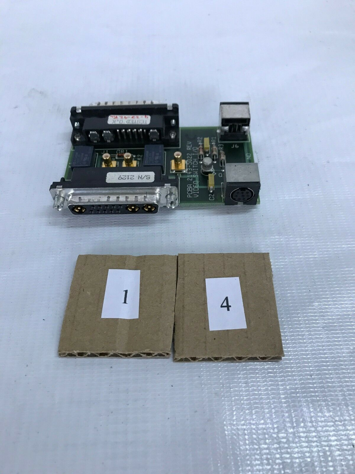 PCBA 2143-5022 Rev C video Switch I O Sun Microsystem
