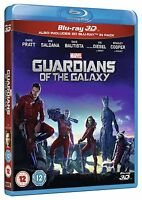 Guardians Of The Galaxy 3d + 2d Blu-ray Brand Free Ship