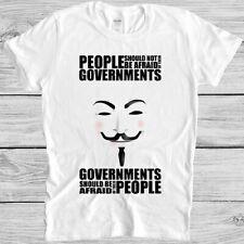 Anonymous Global Awakening Loading Anti Government V For Vendetta Unisex T-Shirt
