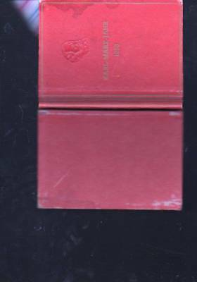 (a70715) Karl Marx Jahr 1953, 10 Briefmarken Der Ddr Gedruckt In Buchform