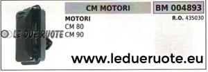 435030 SILENCIEUX TUYAU D'ÉCHAPPEMENT COMPLET MOTEURS CM80 CM90 CM 80 90