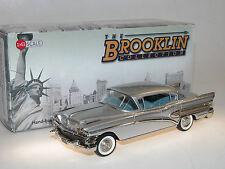 Brooklin Models BRK 155a 1958 Buick Roadmaster 75 4-Door Sedan, silver, 1/43 NEU