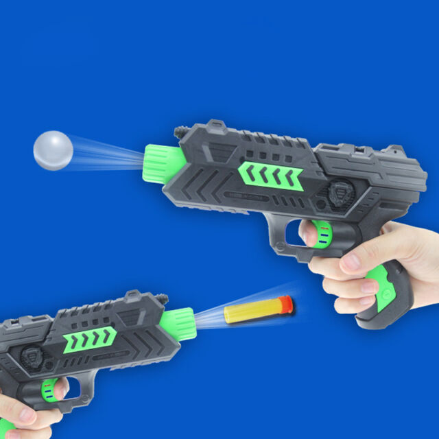 2 in 1 Water Crystal Paintball  & Soft Bullet Gun Pistol Toy CS Game Toy