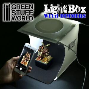 Lightbox-Studio-con-atenuadores-USB-dimmers-portatil-estudio-fotografia-led