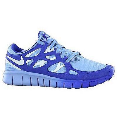 meet 8e54e 09fca WMNS Nike Free Run 2 EXT Light Blue Sail Hyper Blue 536746-401 | eBay